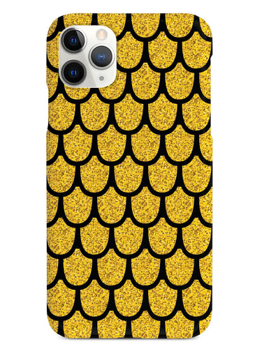 Mermaid Scales - Gold - Black Case