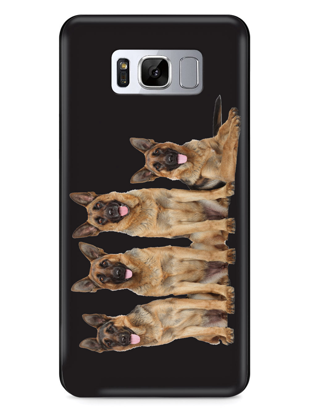 German Shepherd Squad - Black Case