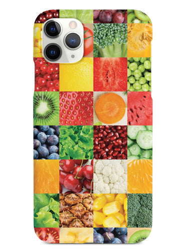 Healthy Foods Quilt Pattern 3 Case