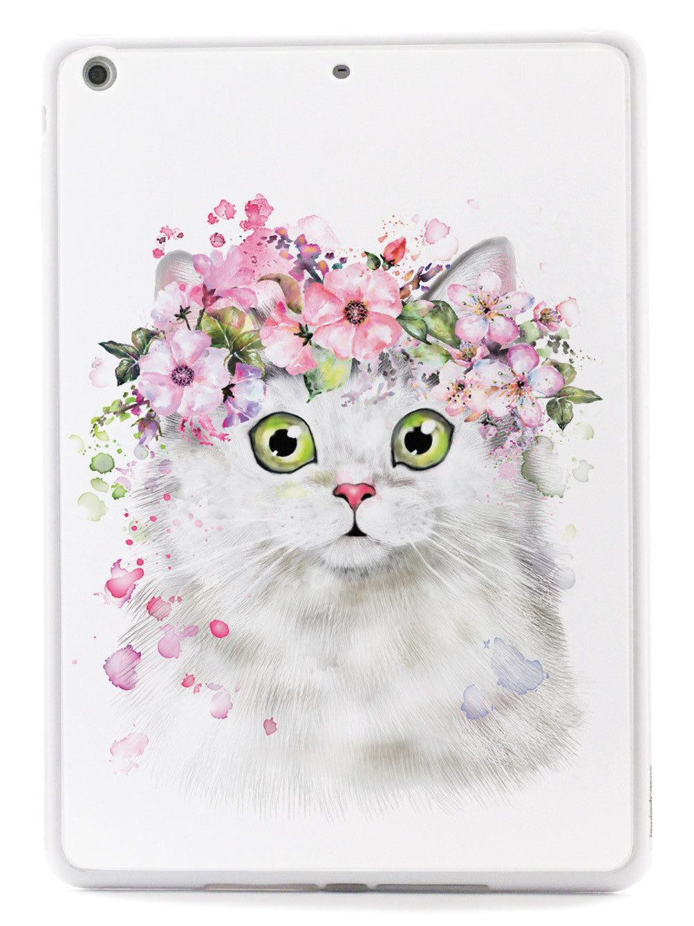Surprised Flower Kitty - Persian Cat Case