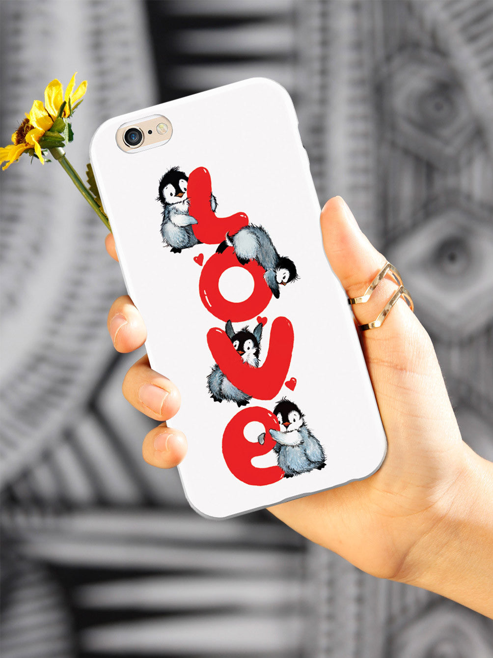 Penguin LOVE - White Case