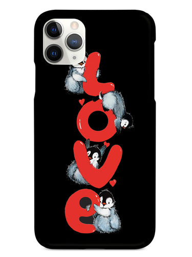 Penguin LOVE - Black Case