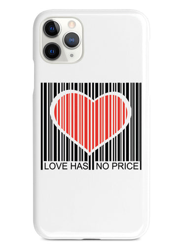 Love Has No Price - Barcode Case