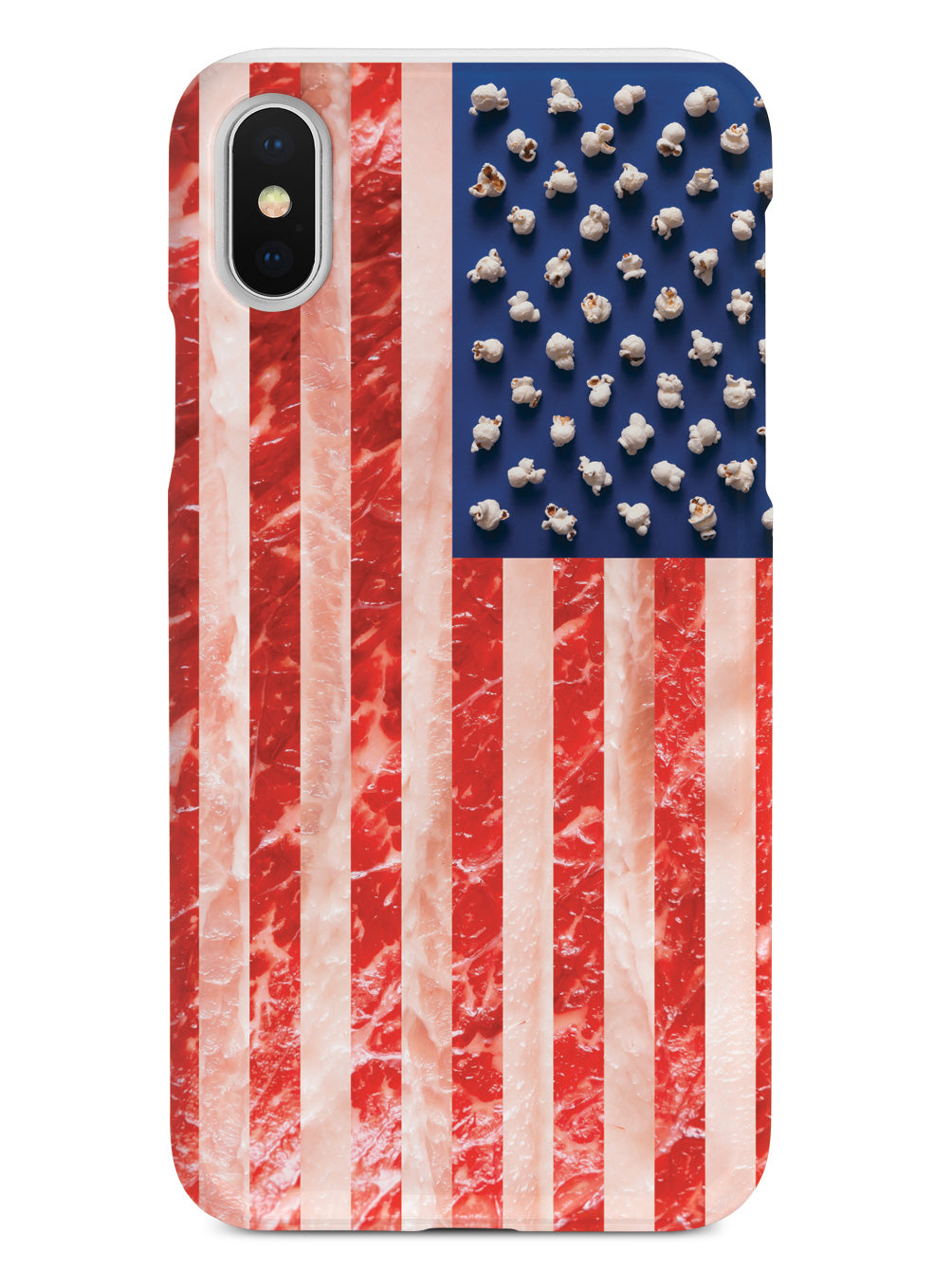American Food Flag - Black Case
