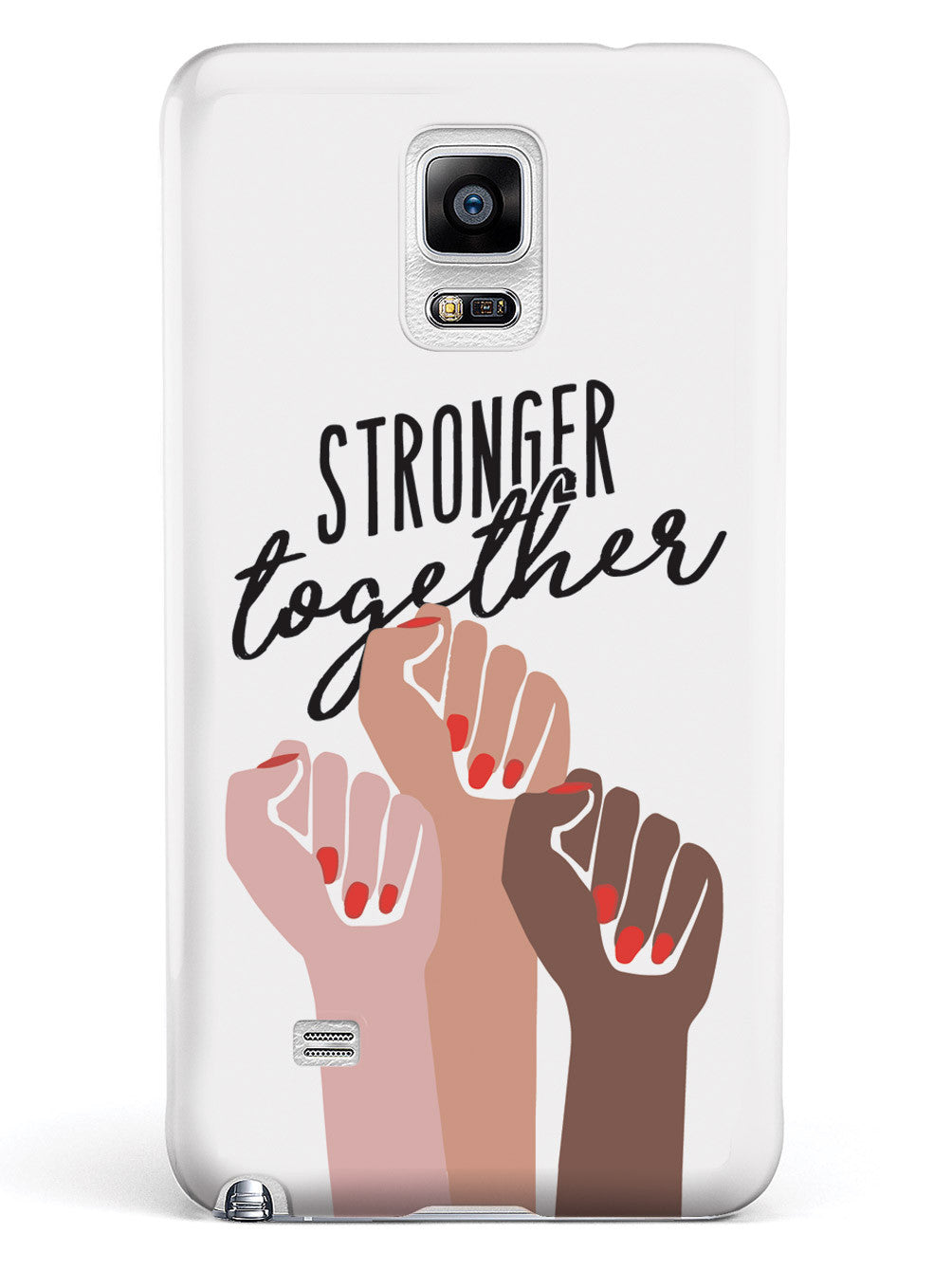 Stronger Together - Women's March Solidarity - White Case