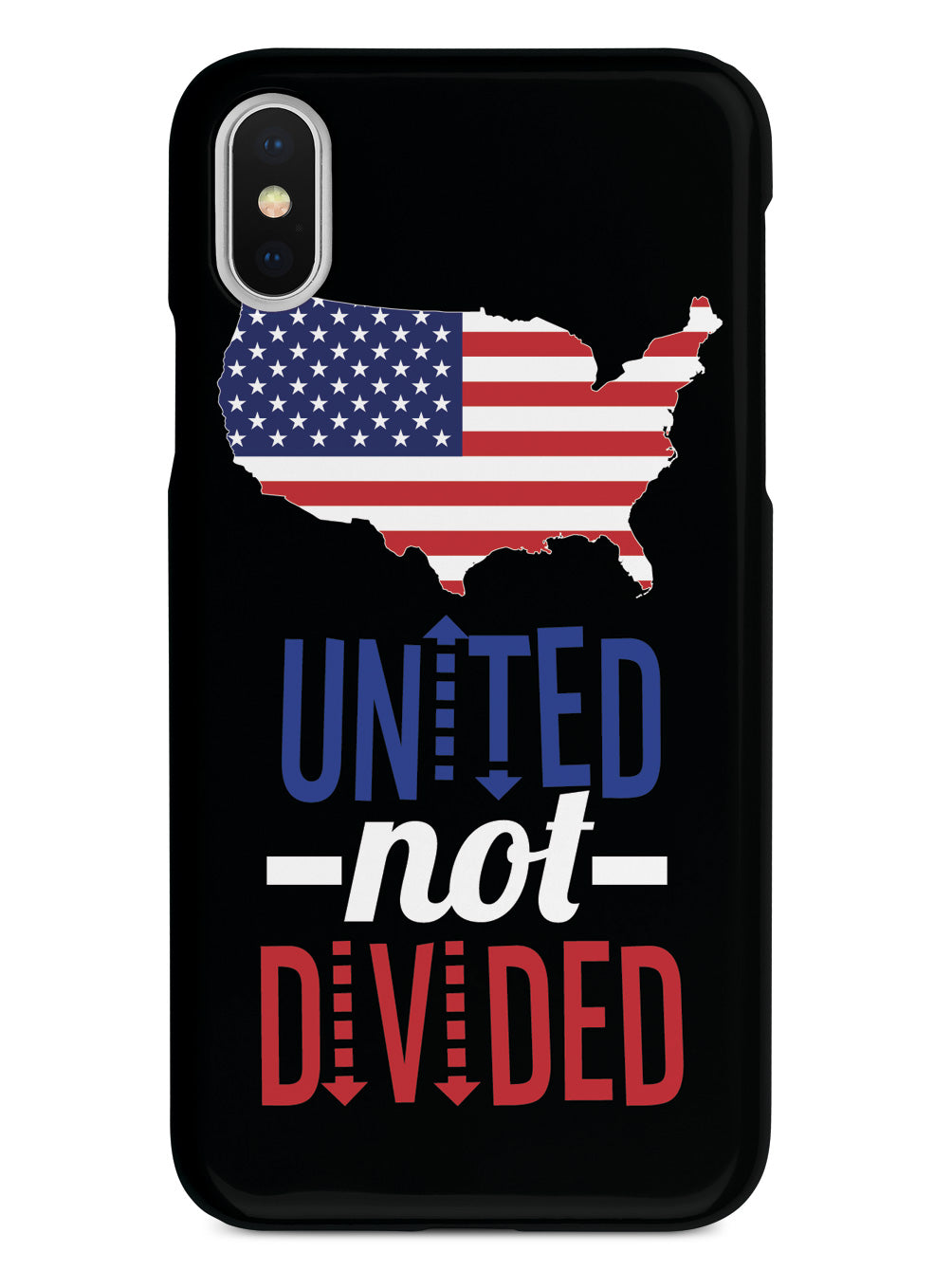 USA - United NOT Divided - Black Case