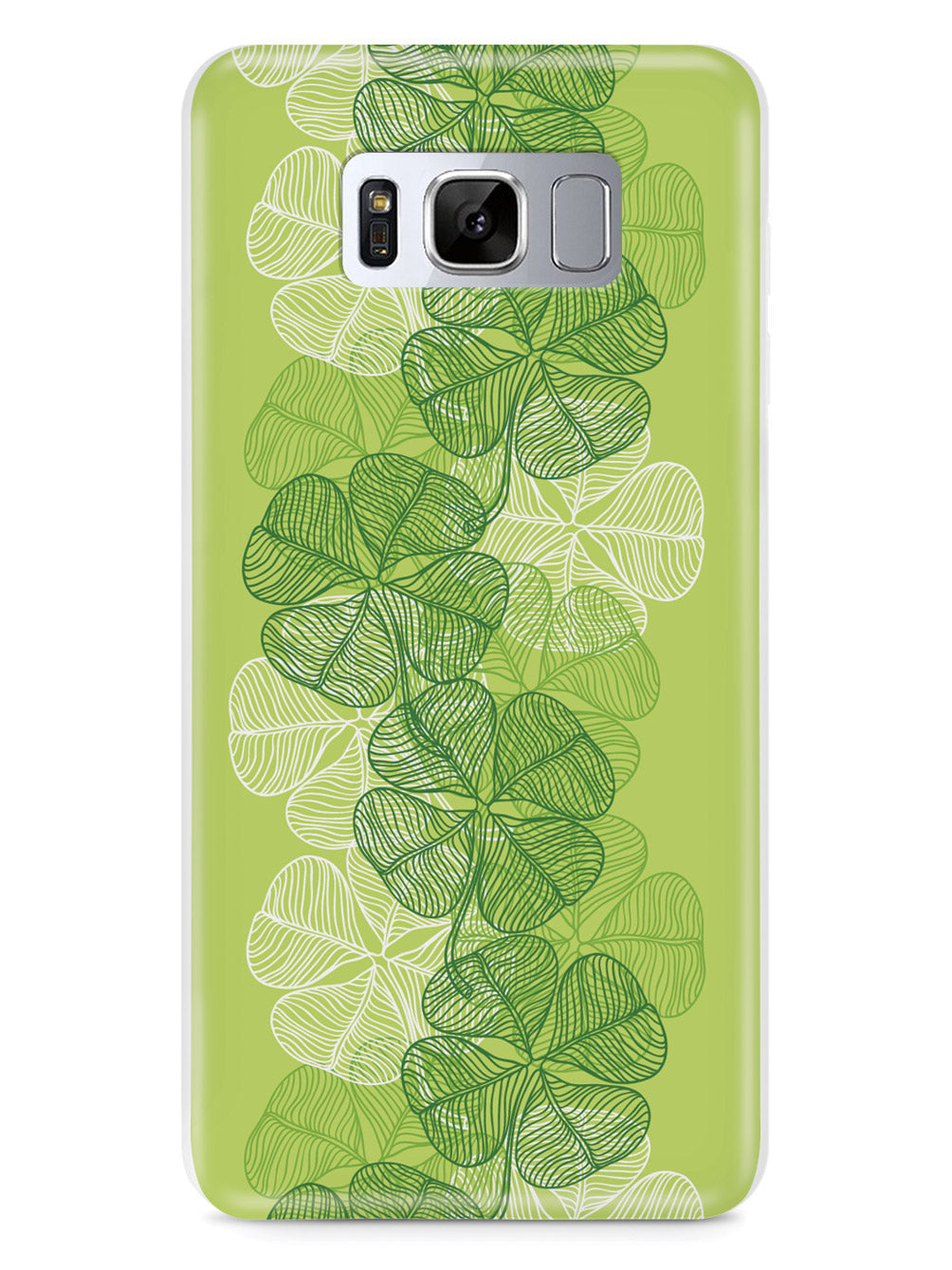 Four-Leaf Clover Lineart Case