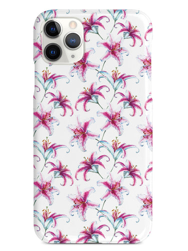 Watercolor Lilies Case