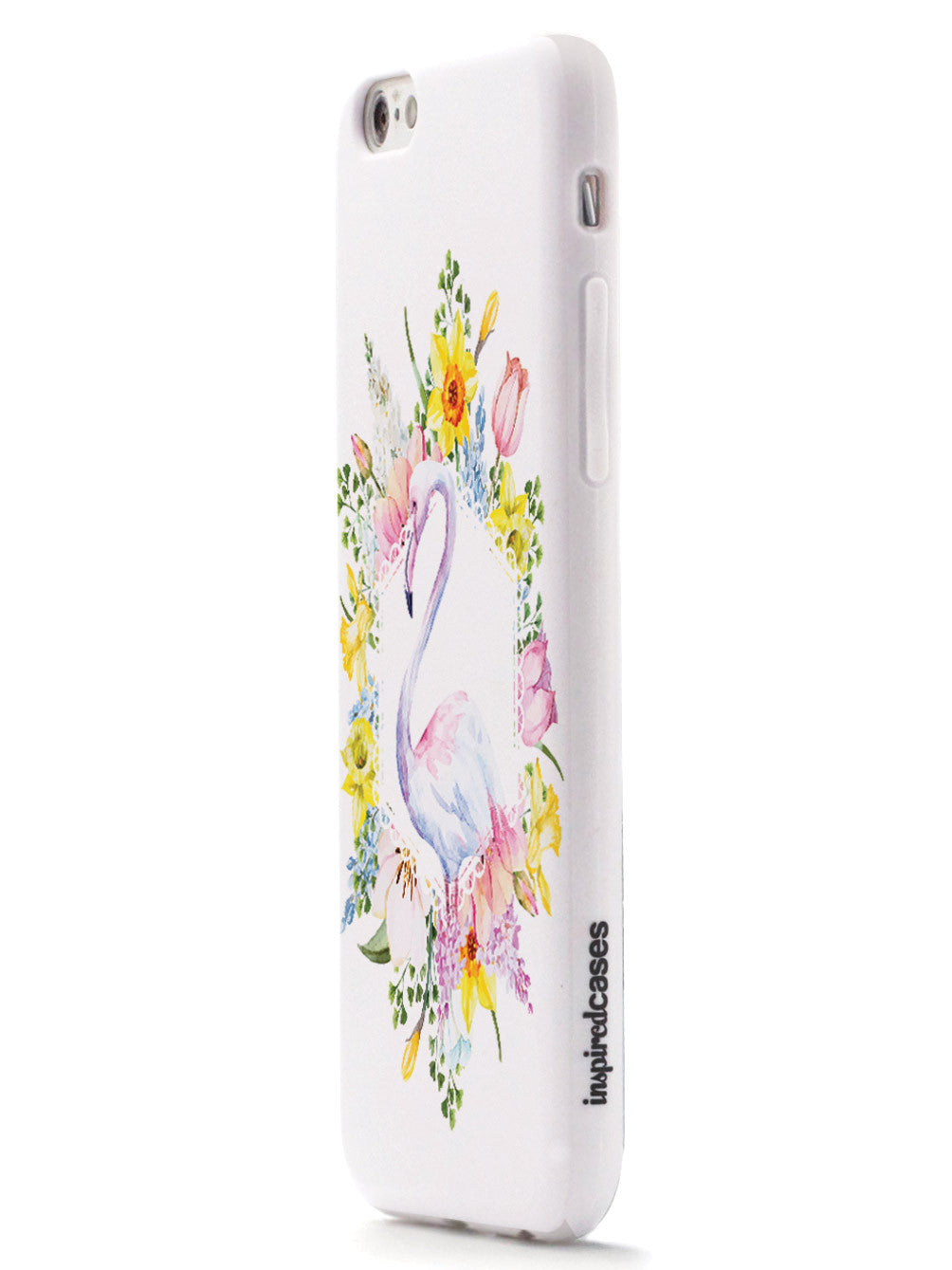Flamingo Spring Flowers Case