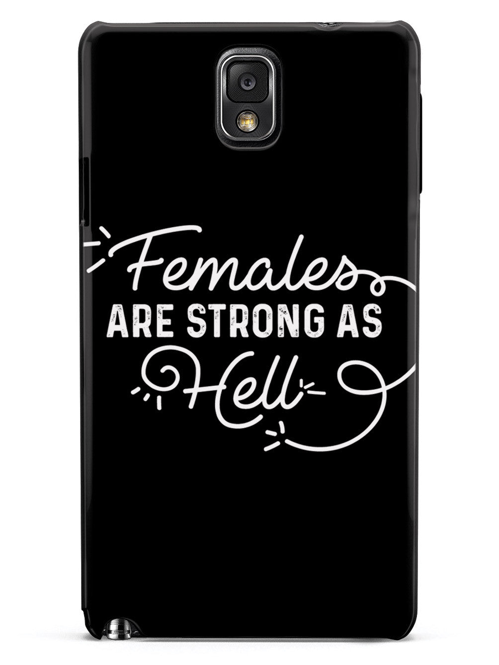 Females Are Strong As Hell - Black Case