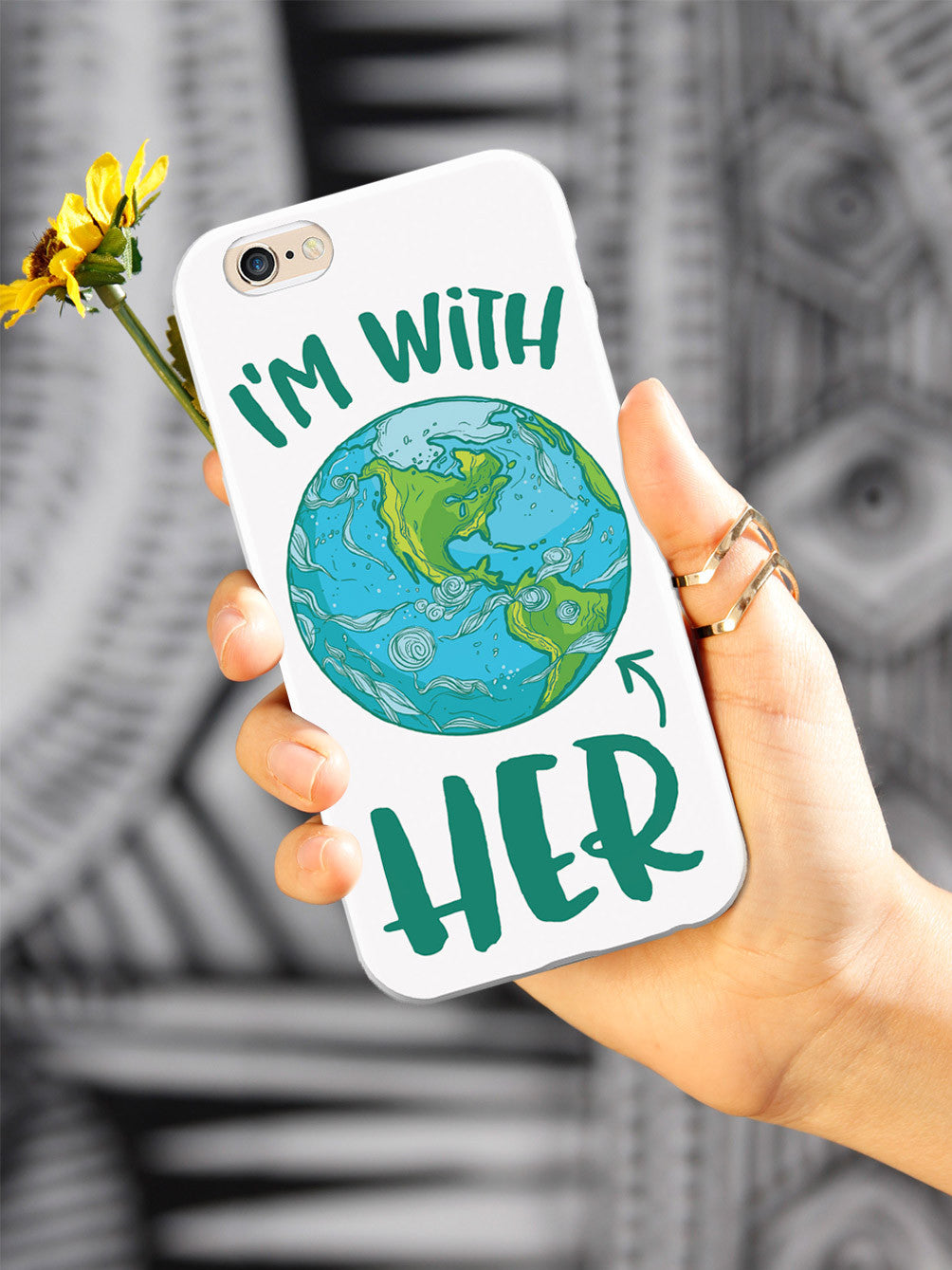 I'm with HER - March For Science Earth Supporter Case