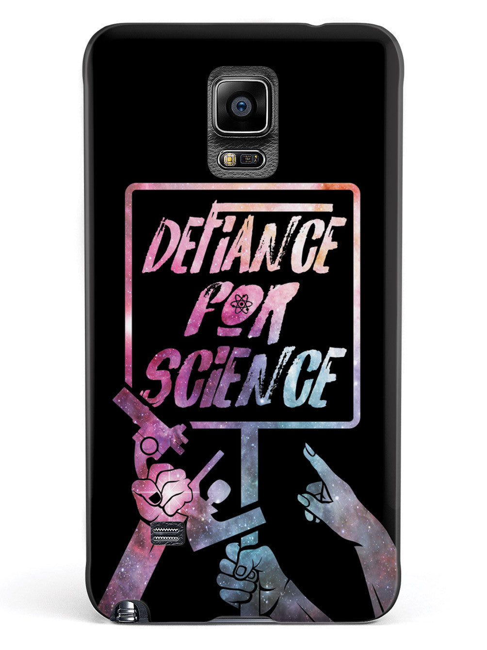 Defiance For Science - Space Background Case