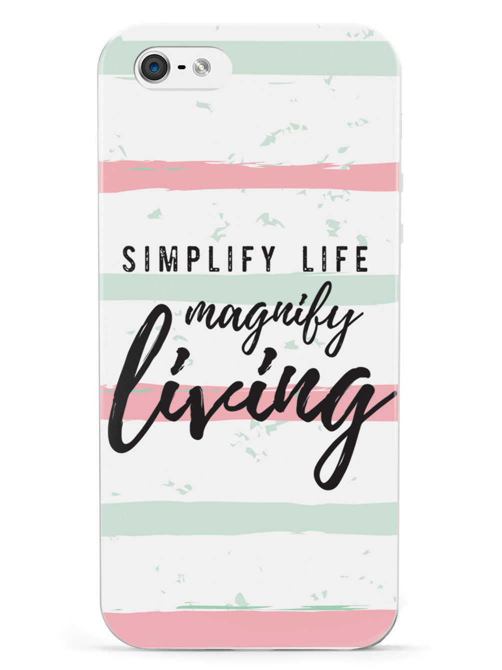 Simplify Life Magnify Living- White Case