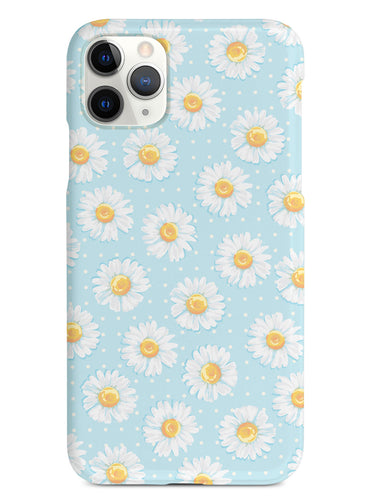 Watercolor Daisy Pattern  - White Case
