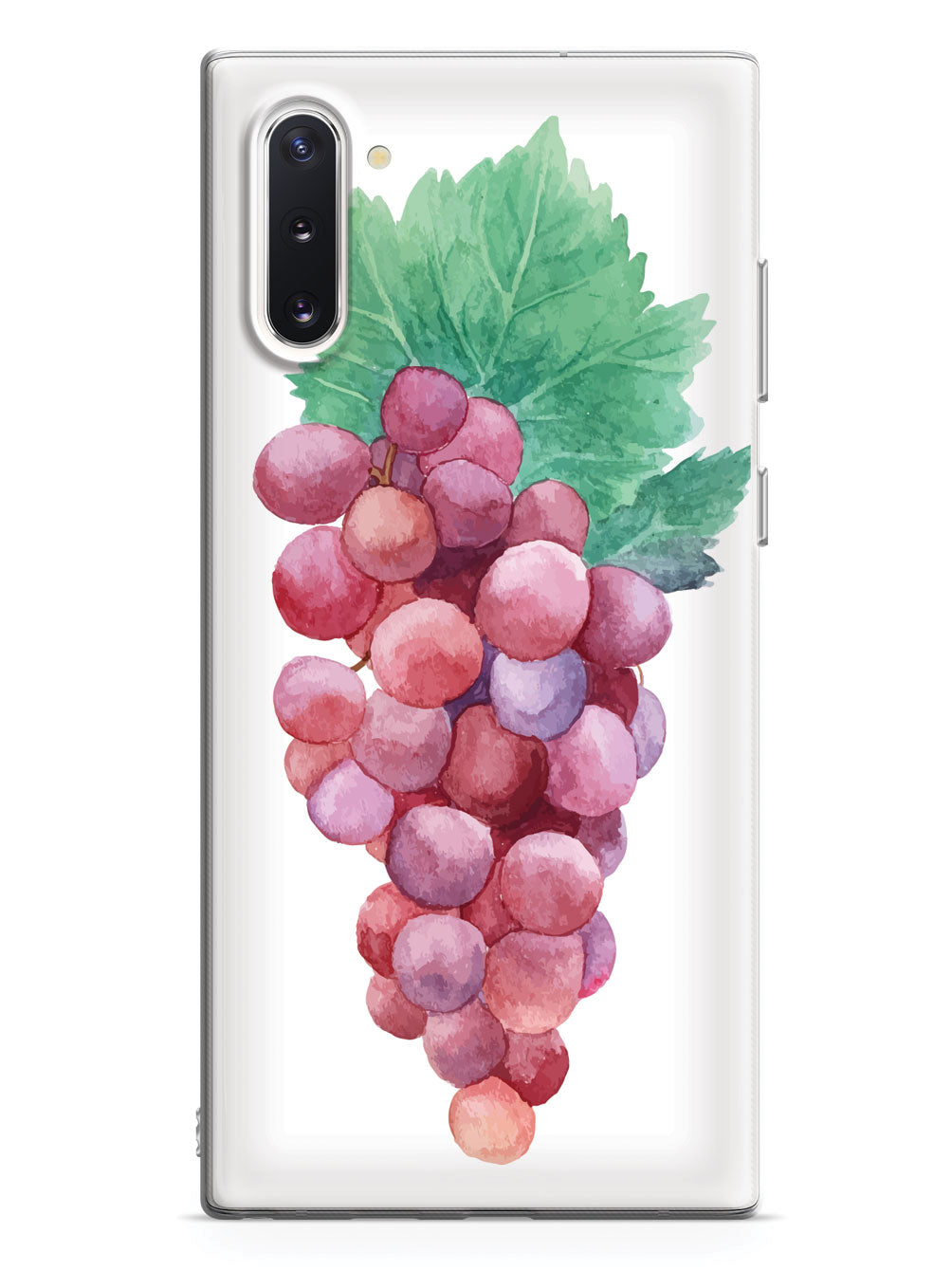 Red Grapes Watecolor - White Case