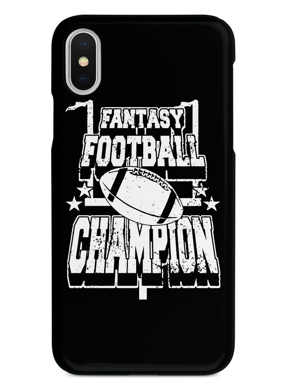 Fantasy Football Champion - Black Case
