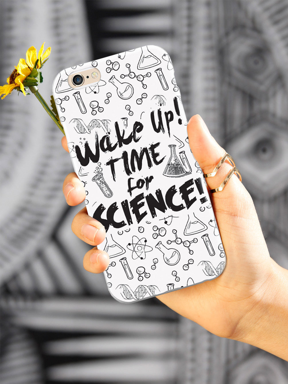WAKE UP! Time For Science! - White Case