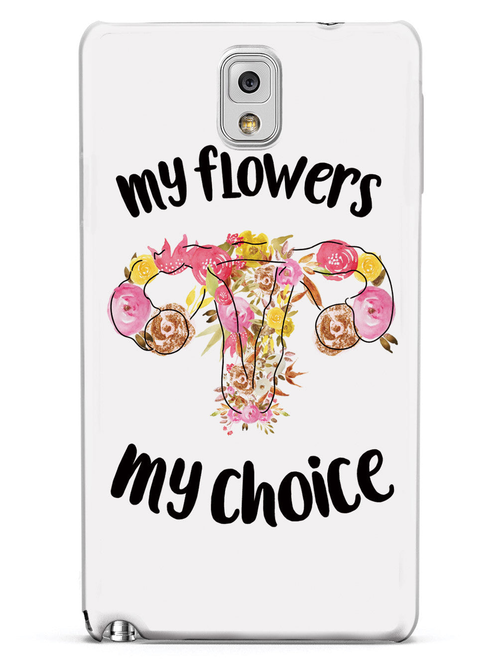 My Flowers My Choice - White Case