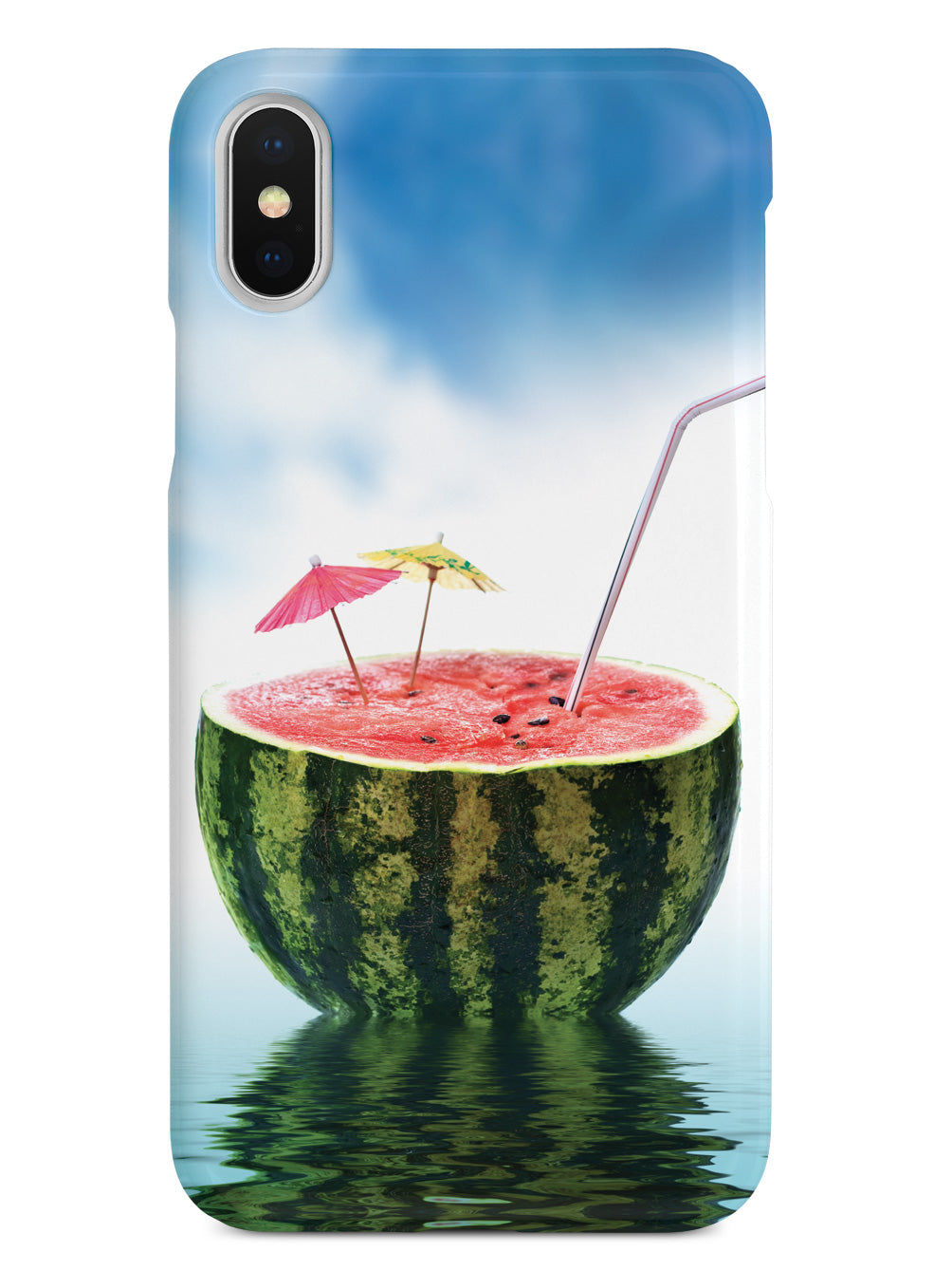 Watermelon Summer Drink - Vacation - White Case