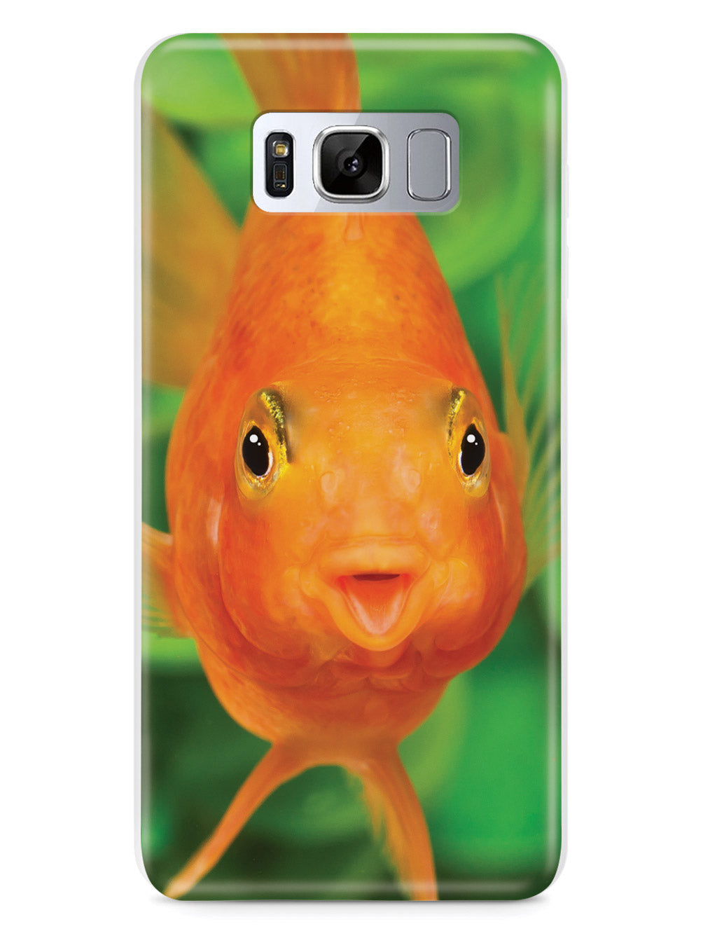 Cute And Funny Goldfish - White Case