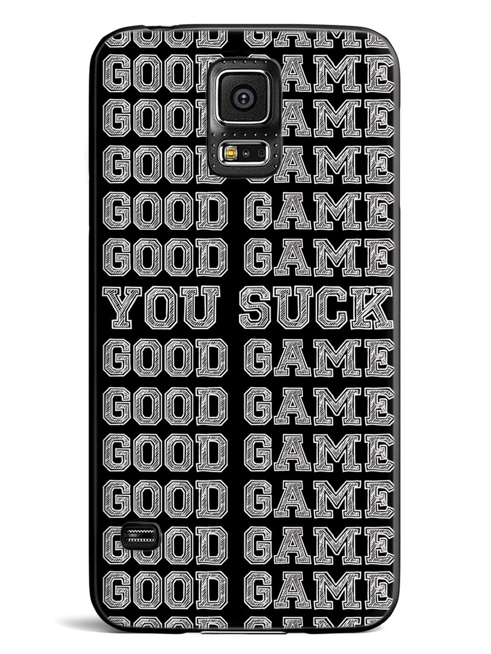 Good Game - You Suck - Black Case