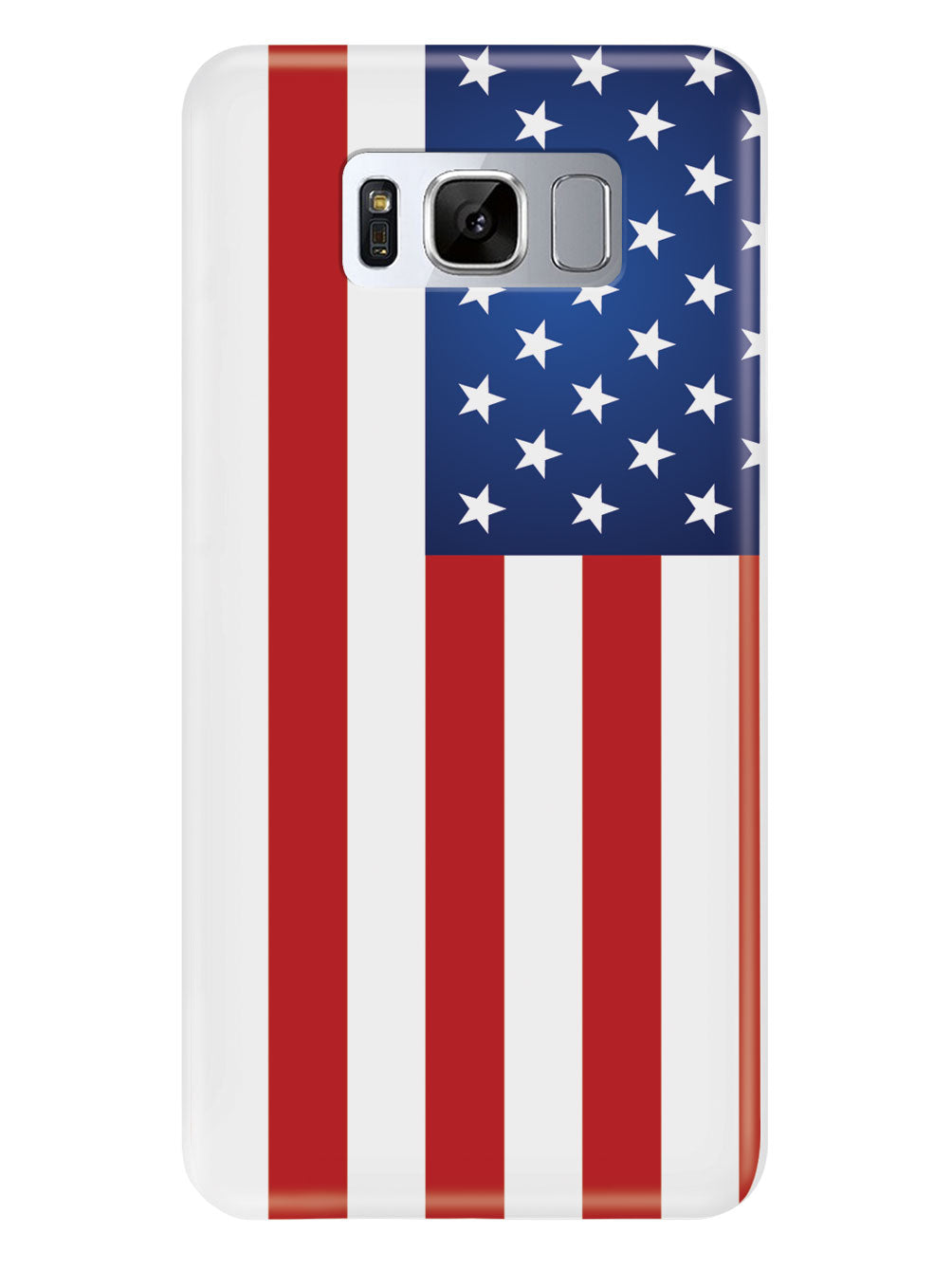 American Flag - White Case