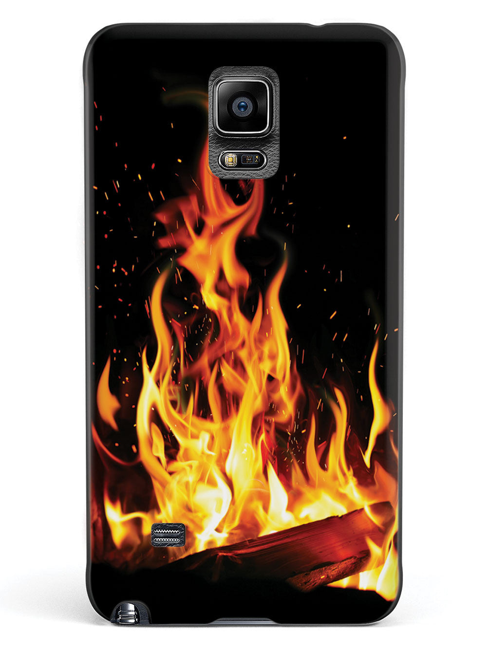 Campfire - Flame - Black Case