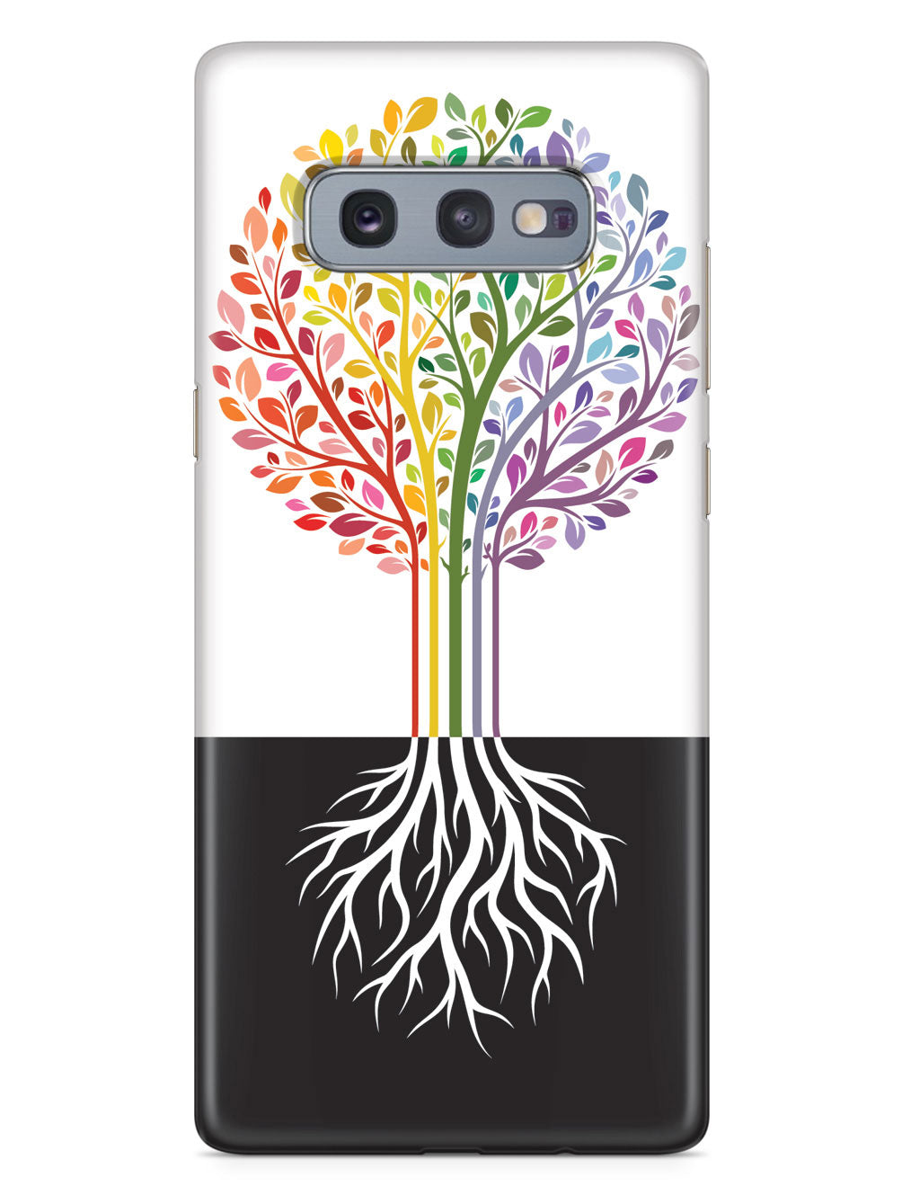 Colorful Tree Of Life - White Case