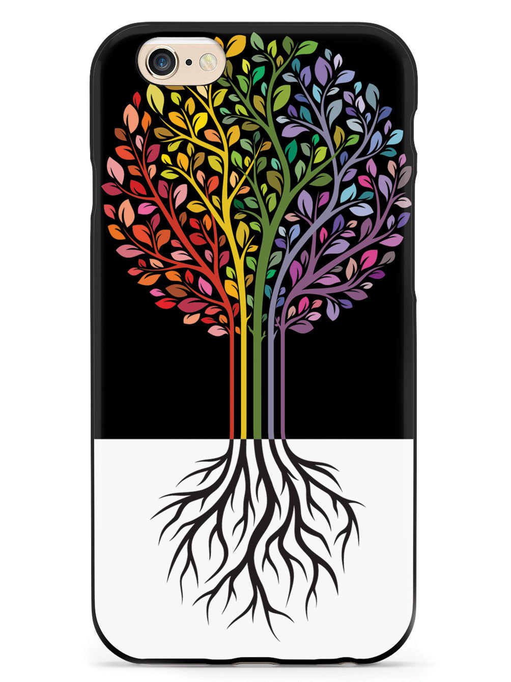 Colorful Tree Of Life - Black Case