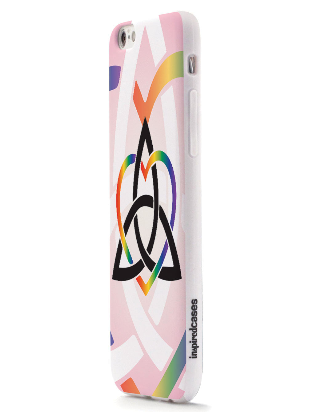 Celtic Sisters Knot - Rainbow - White Case