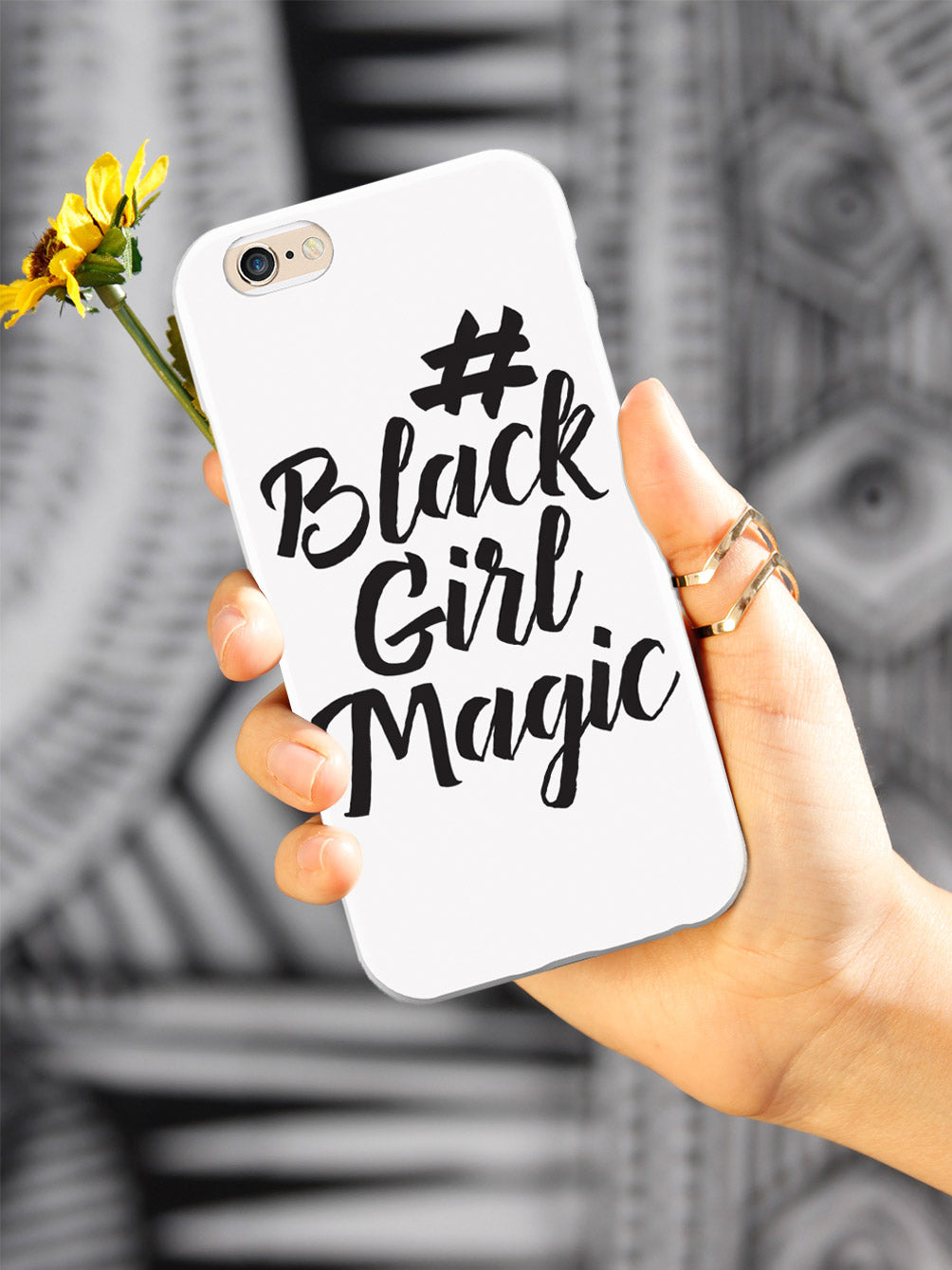 #BlackGirlMagic - White Case