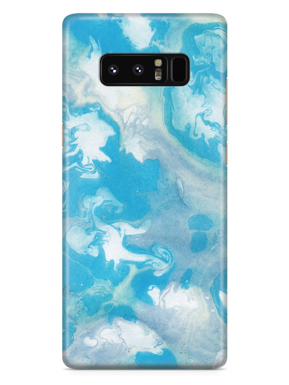 Ink Marble Elements - Blue and White Case