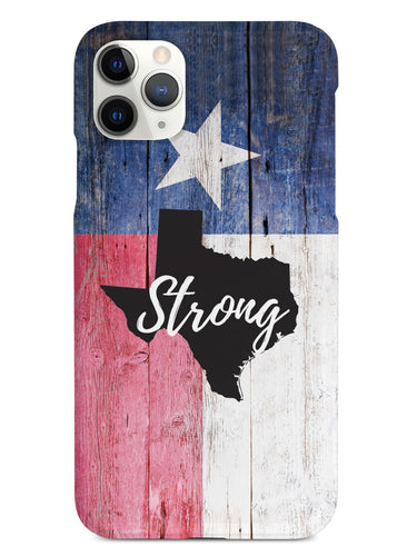 Texas Strong - State Outline Flag Case