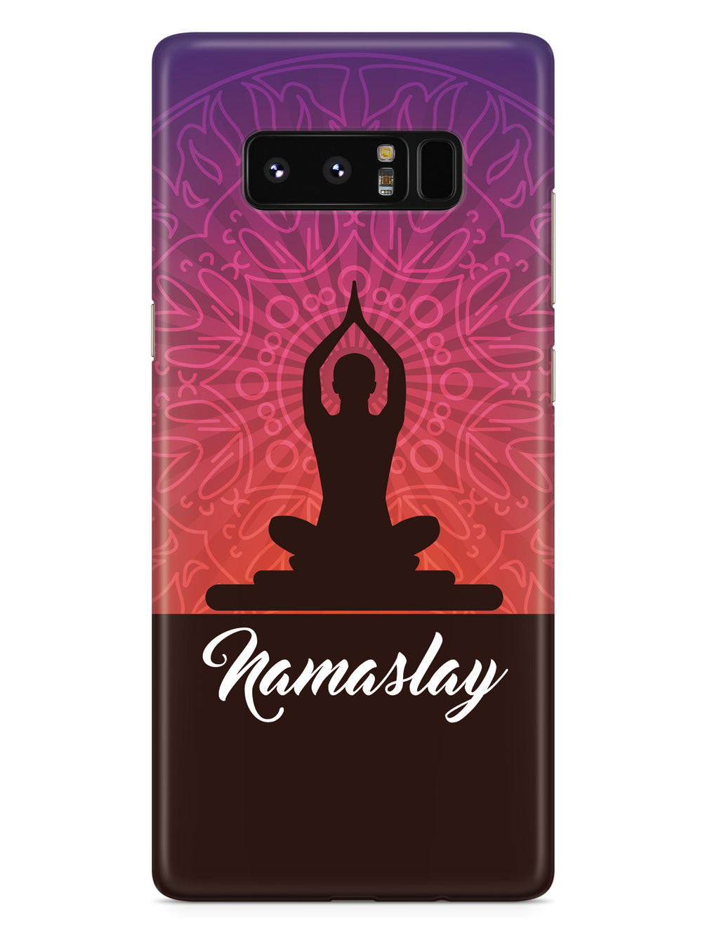 Yoga - Namaslay - White Case