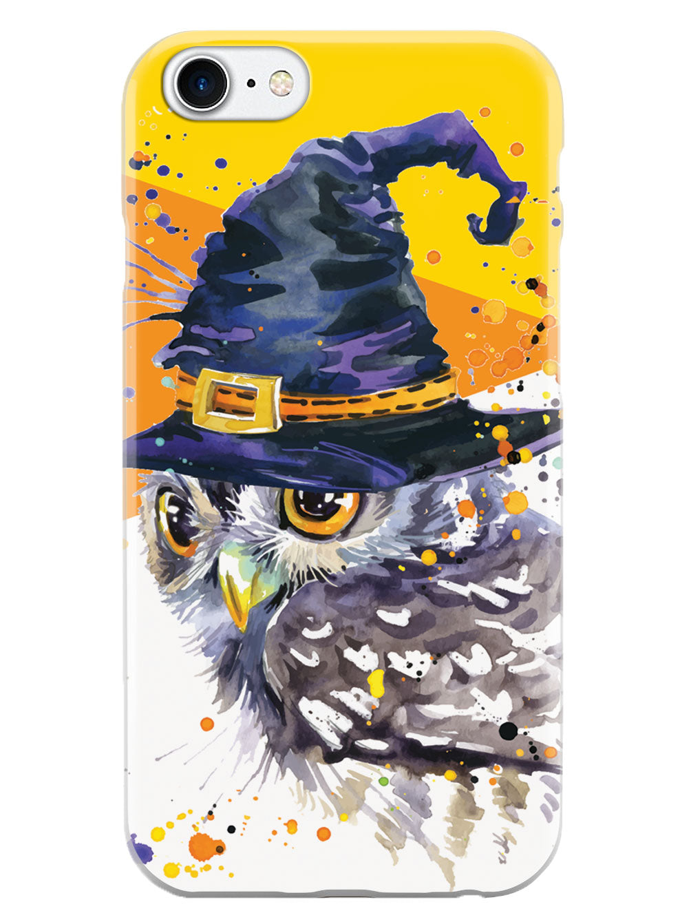 Halloween Witch Owl - Watercolor Case