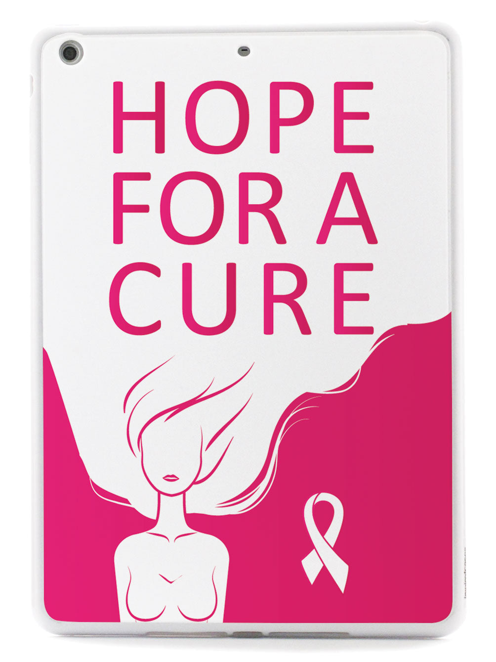 Hope For A Cure - Breast Cancer Awareness - White Case