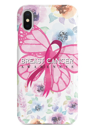 Pink Ribbon Butterfly - Breast Cancer Awareness Case