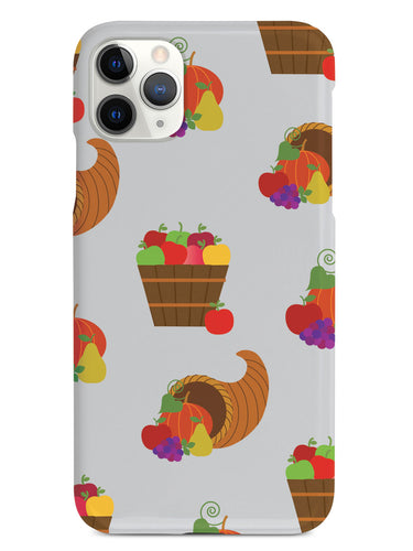 Cornucopia Pattern - White Case