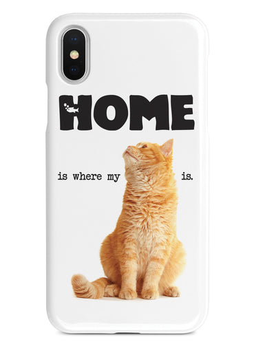 HOME is where my CAT is Case