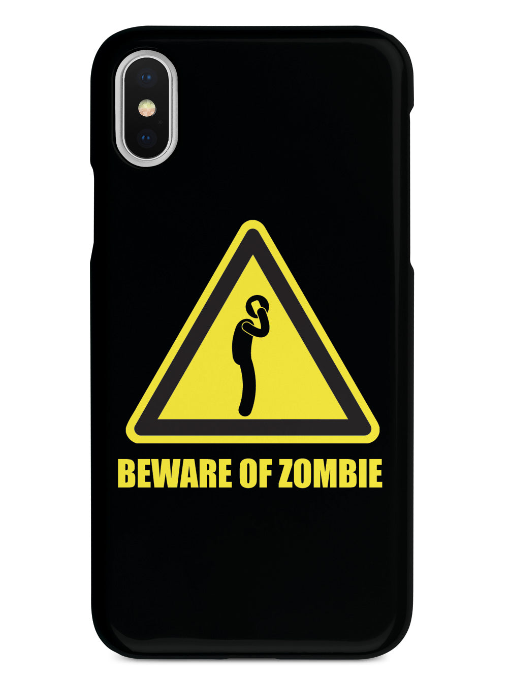 Cellphone Zombie - Black Case