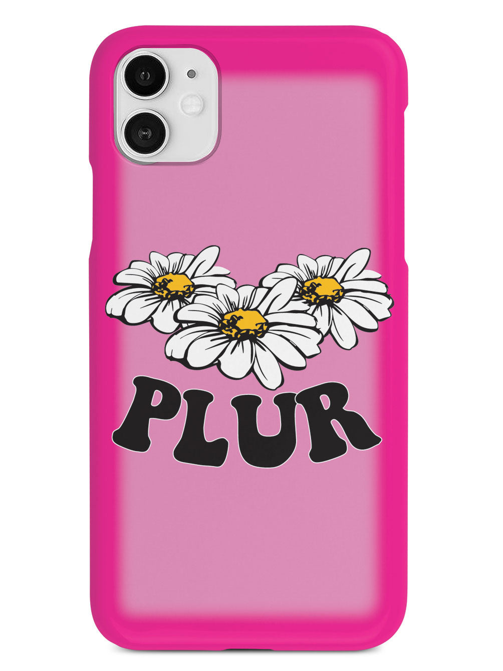Pink PLUR - Black Case