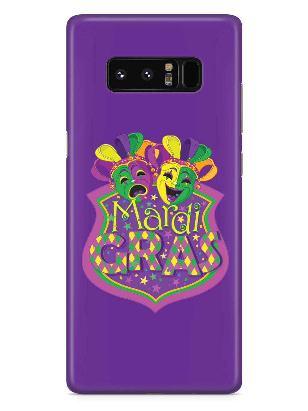 Mardi Gras Masks - Black Case
