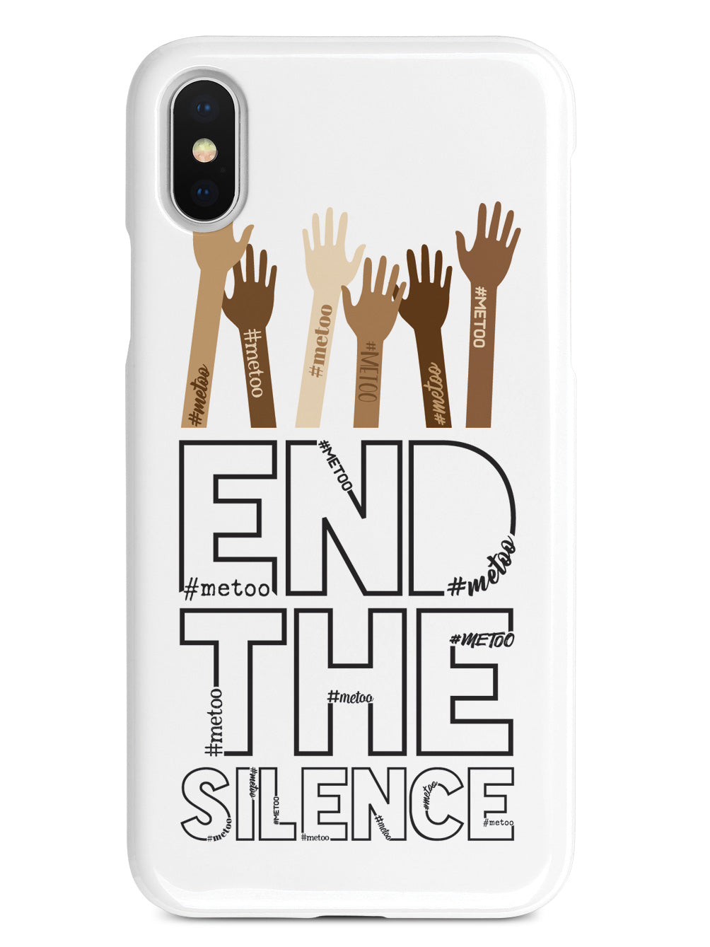 End the Silence - #METOO Movement - White Case