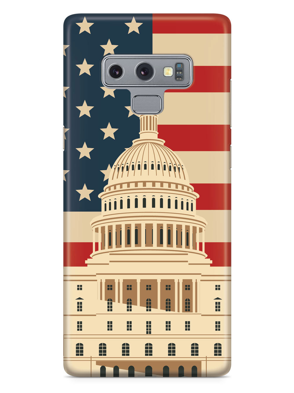 Capitol Building - USA - Black Case