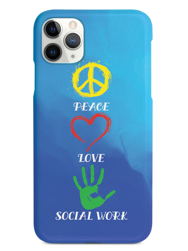 Peace, Love, Social Work - White Case