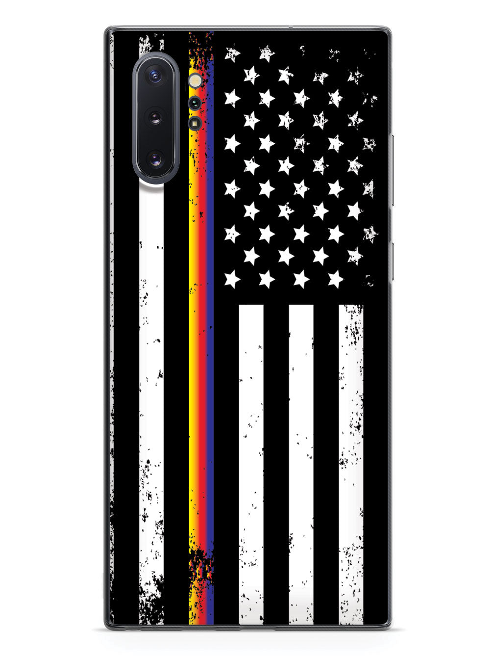 Downward American Flag - Thin Lines Case
