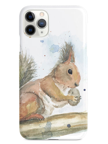 Watercolor Squirrel Case