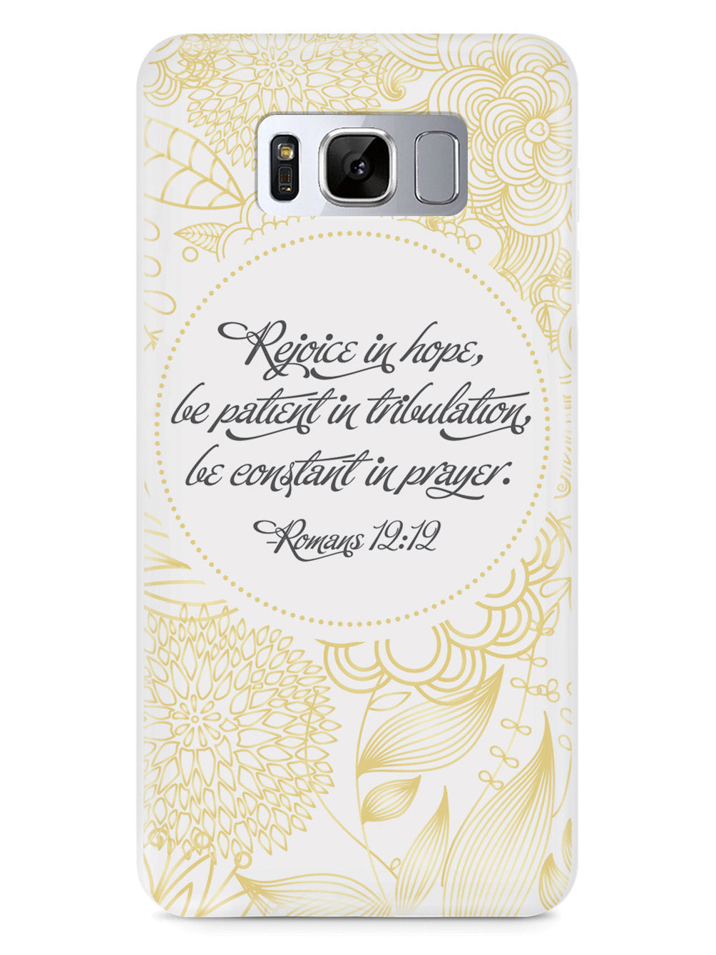 Romans 12:12 Bible Verse Case