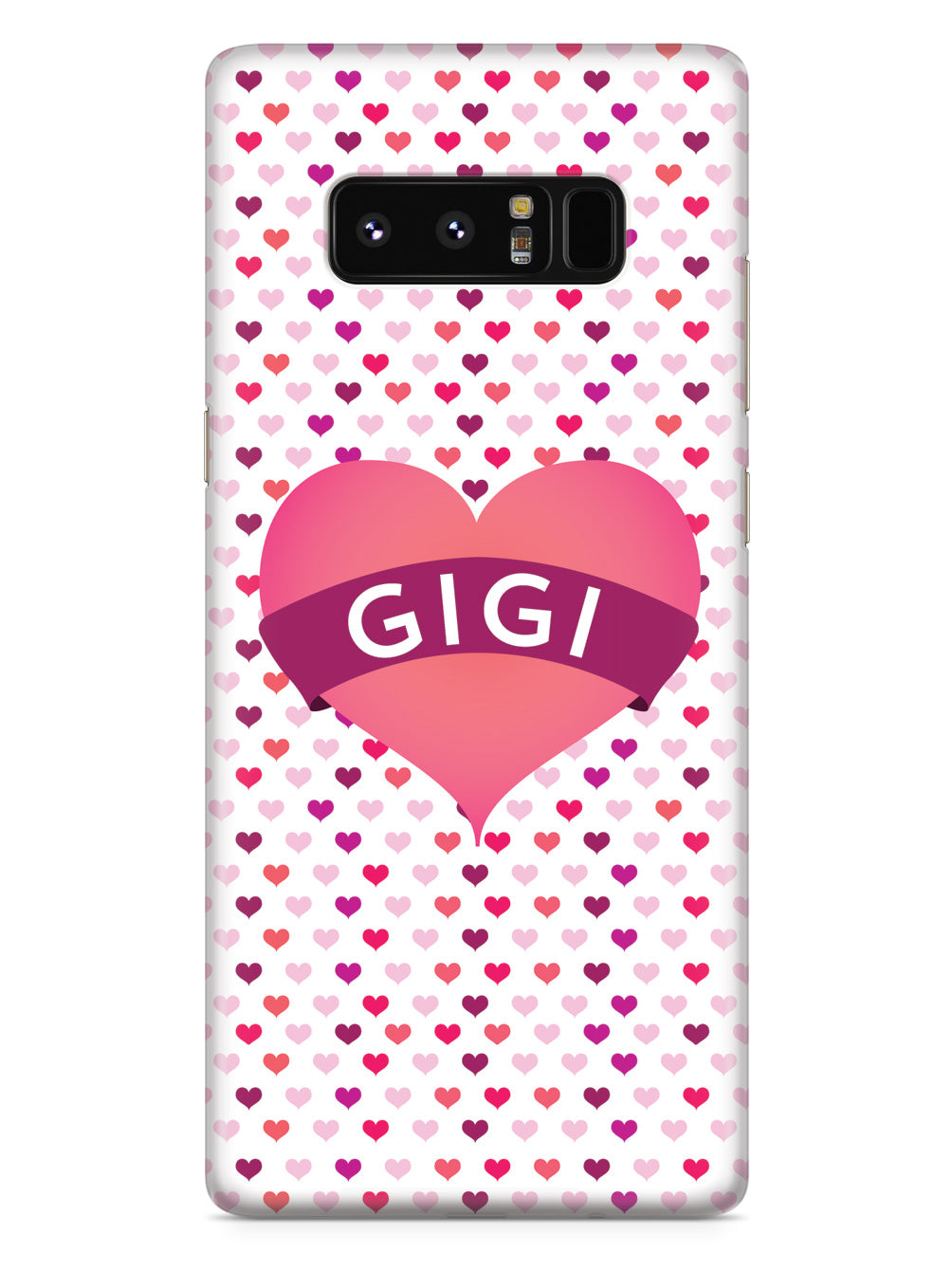 Gigi Heart for Grandma Case