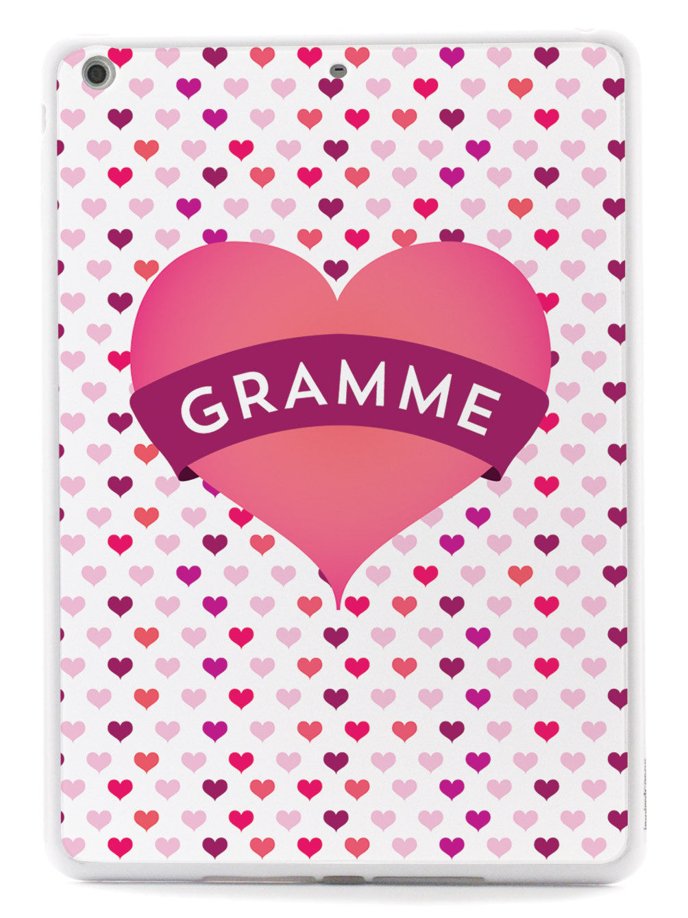 Gramme Heart for Grandma Case